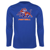 Syntrel Performance Royal Longsleeve Shirt-Football