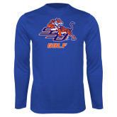 Syntrel Performance Royal Longsleeve Shirt-Golf