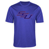 Performance Royal Heather Contender Tee-SSU