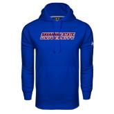Under Armour Royal Performance Sweats Team Hoodie-Horizontal Mark