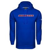 Under Armour Royal Performance Sweats Team Hoodie-Wordmark