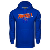 Under Armour Royal Performance Sweats Team Hoodie-Football Design