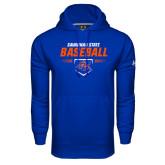 Under Armour Royal Performance Sweats Team Hoodie-Baseball Design