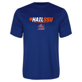 Syntrel Performance Royal Tee-#HAILSSU