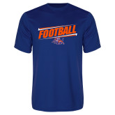 Syntrel Performance Royal Tee-Football Design