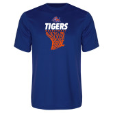 Syntrel Performance Royal Tee-Basketball Net Design
