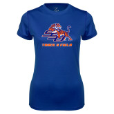 Ladies Syntrel Performance Royal Tee-Track & Field
