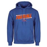 Royal Fleece Hoodie-Football Design