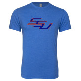 Next Level Vintage Royal Tri Blend Crew-SSU