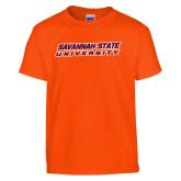 Youth Orange T Shirt-Horizontal Mark