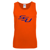 Orange Tank Top-SSU