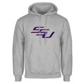 Grey Fleece Hoodie-SSU