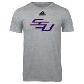 Adidas Sport Grey Logo T Shirt-SSU