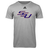 Adidas Climalite Sport Grey Ultimate Performance Tee-SSU