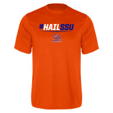 Performance Orange Tee-#HAILSSU