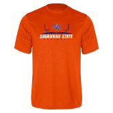 Performance Orange Tee-Football Field Design