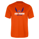 Performance Orange Tee-Track & Field Design