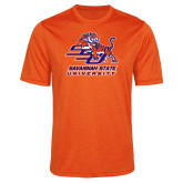 Performance Orange Heather Contender Tee-Official Logo