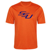 Performance Orange Heather Contender Tee-SSU