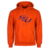 Orange Fleece Hoodie-SSU