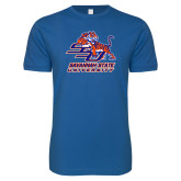 Next Level SoftStyle Royal T Shirt-Official Logo