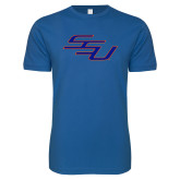 Next Level SoftStyle Royal T Shirt-SSU