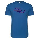 Next Level SoftStyle Royal T Shirt-SSU