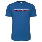 Next Level SoftStyle Royal T Shirt-Wordmark