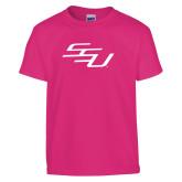 Youth Fuchsia T Shirt-SSU