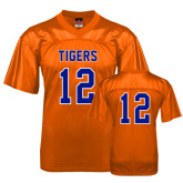 Replica Orange Adult Football Jersey-#12