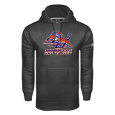 Under Armour Carbon Performance Sweats Team Hoodie-Official Logo