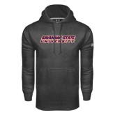 Under Armour Carbon Performance Sweats Team Hoodie-Horizontal Mark