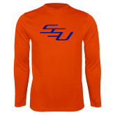 Performance Orange Longsleeve Shirt-SSU