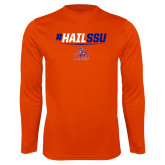 Performance Orange Longsleeve Shirt-#HAILSSU