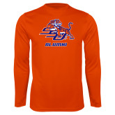 Performance Orange Longsleeve Shirt-Alumni