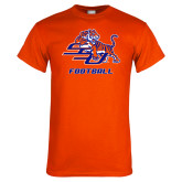 Orange T Shirt-Football