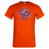 Orange T Shirt-Golf