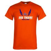 Orange T Shirt-Track & Field Design