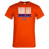 Orange T Shirt-Golf Design