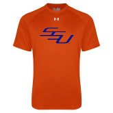 Under Armour Orange Tech Tee-SSU