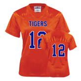 Ladies Orange Replica Football Jersey-#12