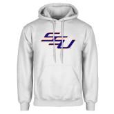 White Fleece Hoodie-SSU