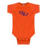 Orange Infant Onesie-SSU