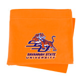 Orange Sweatshirt Blanket-Official Logo