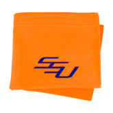 Orange Sweatshirt Blanket-SSU
