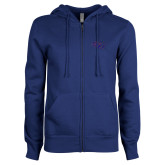 ENZA Ladies Royal Fleece Full Zip Hoodie-SSU
