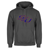 Charcoal Fleece Hoodie-SSU