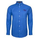 Mens Royal Oxford Long Sleeve Shirt-SSU