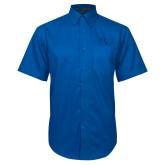 Royal Twill Button Down Short Sleeve-SSU