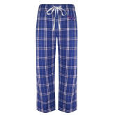 Royal/White Flannel Pajama Pant-SSU